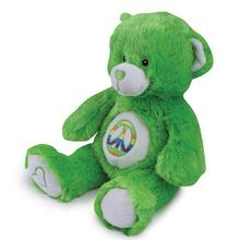 Grriggles Jelly Bean Bear Dog Toy - Green