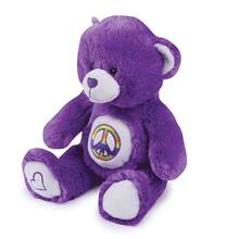 Grriggles Jelly Bean Bear Dog Toy - Purple