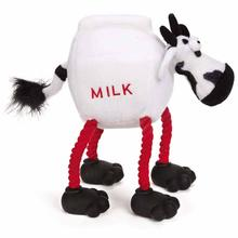 Grriggles Lunchmate Dog Toy - Cow