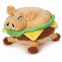 Grriggles Lunchmate Dog Toy - Hamburger