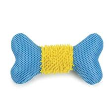 Grriggles Mesh N' Moppy Bones Dog Toy