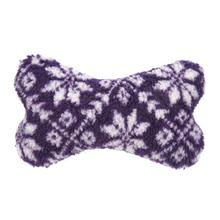 Grriggles Nordic Bone Dog Toy - Purple