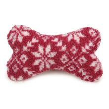 Grriggles Nordic Bone Dog Toy - Red