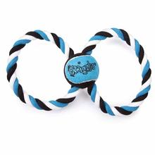 Grriggles Orbit Rope Tug Dog Toy - Blue