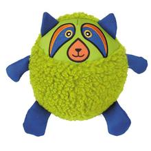 Grriggles Squawker Bellies Dog Toy - Raccoon