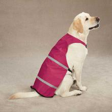 Guardian Gear Brite Reflective Dog Safety Vest - Raspberry