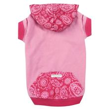Guardian Gear Insect Shield Paisley Dog Pullover - Pink