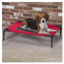 Guardian Gear Pet Cot with Mesh Panels - Crimson