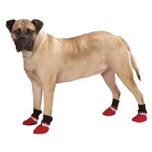 Guardian Gear Weatherized Fleece Dog Boots - Red