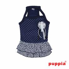 Gypsophila Dog Dress by Puppia - Navy