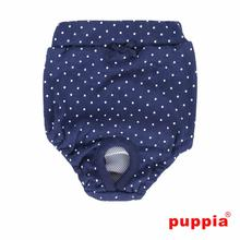 Gypsophila Dog Sanitary Pants by Puppia - Navy