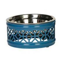 Hadley Dog Bowl - Blue