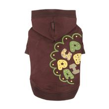 Hallmark Hooded Dog Shirt by Puppia - Brown