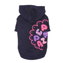 Hallmark Hooded Dog Shirt by Puppia - Navy