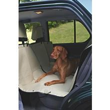 Hammock Style Dog Car Seat Cover - Khaki
