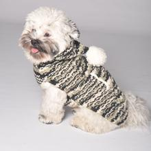 Handmade Cozy Wool Hooded Dog Sweater