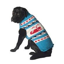 Handmade Whale Wool Dog Sweater