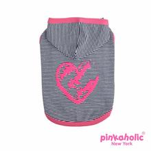 Harper Sleeveless Dog Hoodie by Pinkaholic - Pink