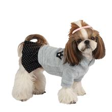 Hatch Hooded Dog Dress by Puppia - Blue