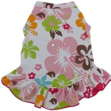 Hawaiian Hibiscus Dog Dress