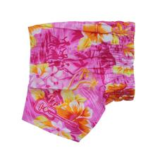 Hawaiian Swim and Board Dog Trunks - Pink