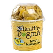 Healthy Dogma Banana Crisps Dog Treat