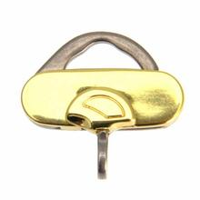 Henley Clip Dog Tag Holder - Gold