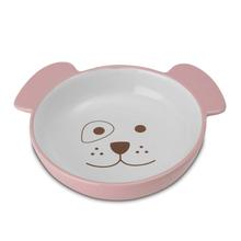Here Doggy Pink Dog Bowl