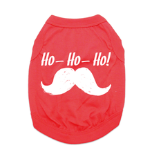 Ho-Ho-Ho Dog Shirt - Red