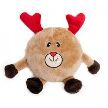 Holiday Brainey Dog Toy - Reindeer
