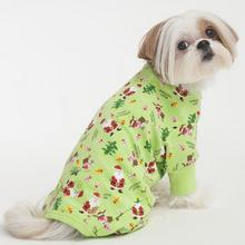 HOLIDAY Cheers Dog Pajamas - Green