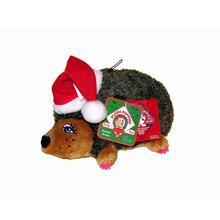 Holiday Hedgehog Girl Dog Toy