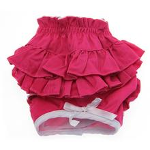 Hot Pink Ruffled Dog Panties