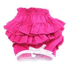 Hot Pink Ruffled Dog Panties