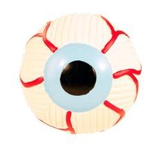 HuggleHounds Halloween Ruff-Tex Eyeball Dog Toy
