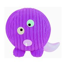 HuggleHounds Ruff-Tex Dog Toy - Purple People Eater Monstah