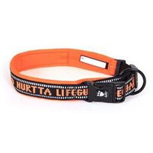 Hurtta Outdoors Padded Dog Collar - Orange