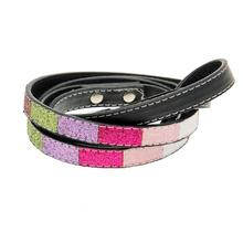 Ice Cream Dog Leash - Pink Bones