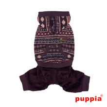 Iceberg Dog Jumpsuit by Puppia - Purple
