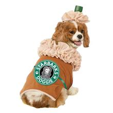 Iced Coffee Dog Costume