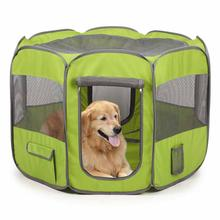 Insect Shield Fabric Exercise Pet Pen - Fern