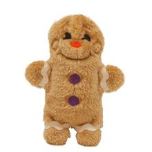 Invincibles GingerBread Man Dog Toy