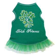 Irish Princess Dog Dress - Green