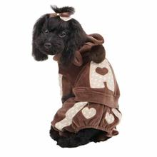 Juicy Dog Jumpsuit by Pinkaholic - Brown