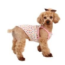 Jumble Dog Tank Top by Puppia - Pink
