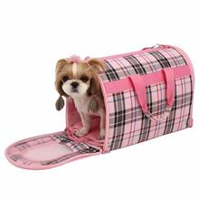 Junior Cage Dog Carrier by Puppia - Pink