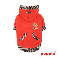 Kismet Dog Hoodie by Puppia - Orange