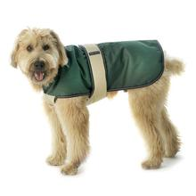 Kodiak Dog Coat - Hunter Green & Tan