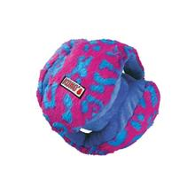 KONG Funzler Ball Dog Toy - Blue and Pink