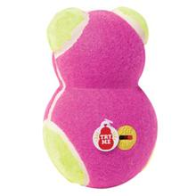 KONG ON/OFF Squeaker Dog Toy Bear - Pink Bear